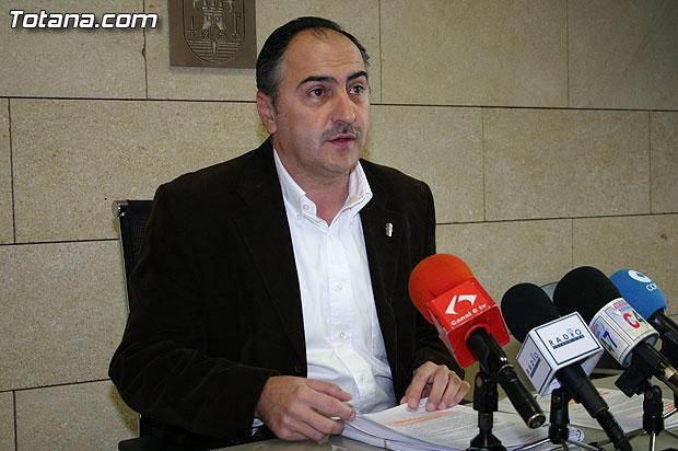 El portavoz del equipo de Gobierno dio cuenta de los acuerdos adoptados en la Junta de Gobierno celebrada ayer, Foto 1