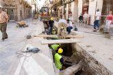 La peatonalización de las Puertas de Murcia cumplirá los plazos previstos