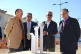 ElPozo Alimentaci�n donar� la escultura que completa las rotondas de la Avenida Antonio Fuertes de Alhama de Murcia