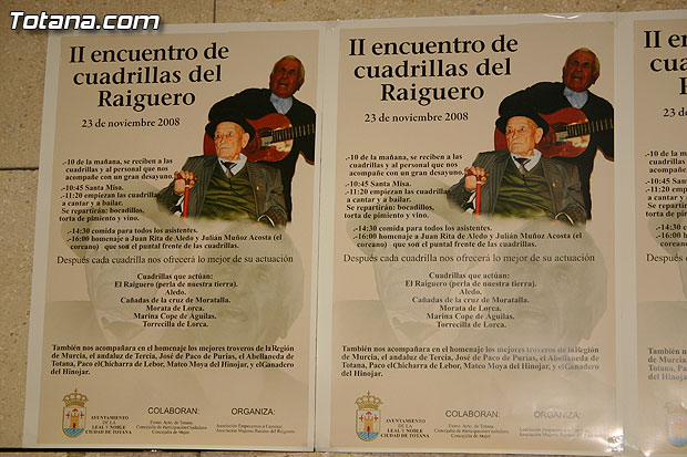 Autoridades municipales y regionales asistirán al homenaje al Tío Juan Rita y a Julián Muñoz Acosta, Foto 1