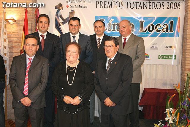 """Gala de los premios """"Totaneros del Año 2008"""", Foto 1"""