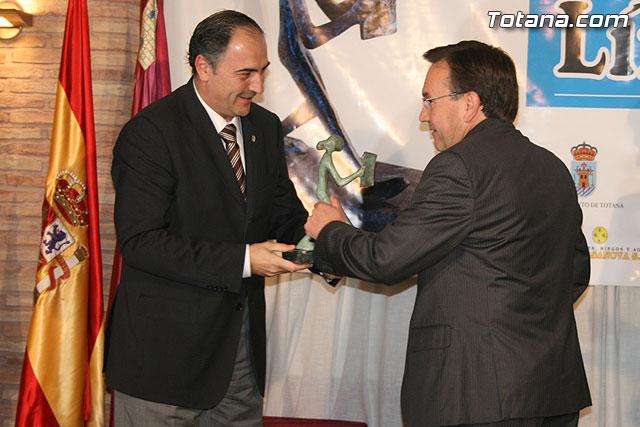 """Gala de los premios """"Totaneros del Año 2008"""", Foto 3"""