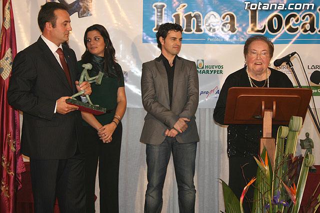 """Gala de los premios """"Totaneros del Año 2008"""", Foto 4"""