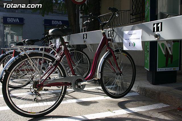 """Totana pone en marcha el sistema de préstamo de bicicletas más moderno de toda la Región de Murcia, """"Bicito"""", Foto 1"""