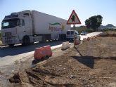 La Consejería de Obras Públicas y Ordenación del Territorio culminará la glorieta de la carretera de Abanilla en febrero de 2009