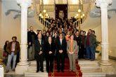 Los participantes en el V Congreso de Musealización, en el Palacio Consistorial