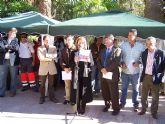 Alcantarilla conmemoró hoy el Día Internacional contra la Violencia de Género con una concentración y lectura de un manifiesto