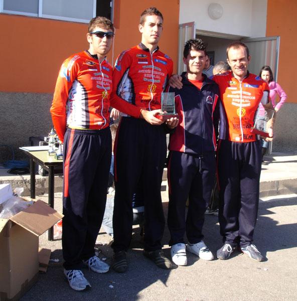 Miembros del club ciclista Santa Eulalia participaron en el trofeo presidente en Puente Tocinos, Foto 1