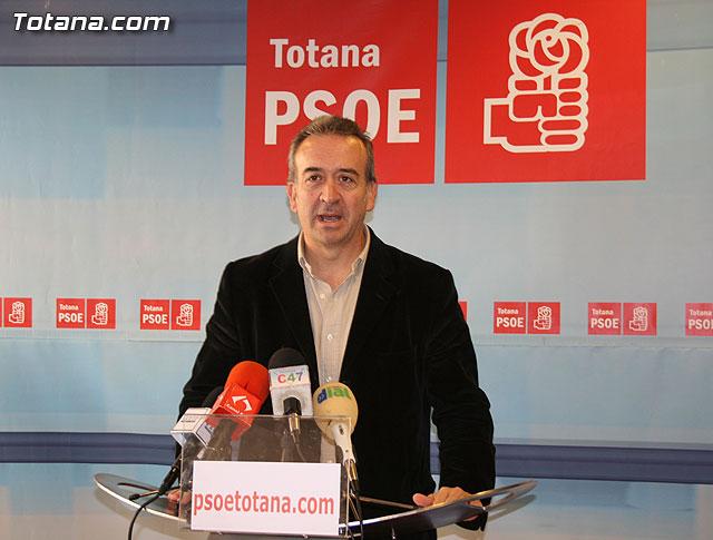 """Otálora: """"Otro Pleno con propuestas peregrinas y sin acometer los grandes problemas de Totana"""", Foto 1"""