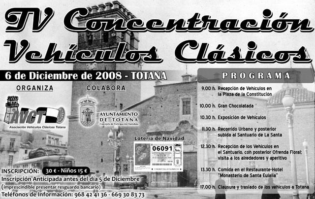 Totana acogerá la IV Concentración de Vehículos Clásicos Ciudad de Totana, Foto 1