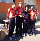 Miembros del club ciclista Santa Eulalia participaron en el trofeo presidente en Puente Tocinos