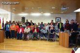 """Autoridades municipales realizan una recepci�n institucional a los usuarios del Centro Ocupacional """"Jos� Moy�"""""""
