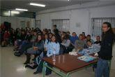 Alumnos de tercero de educación secundaria del IES Poeta Julián Andúgar asisten a un Taller de Educación Afectivo – Sexual para prevenir el SIDA