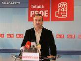 Otálora espera que el gobierno de Totana sepa aprovechar la gran oportunidad que le ofrece Zapatero