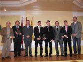 Jaime García, atleta local de taekwondo, Mejor Deportista 2007-08 en la VI Gala del Deporte de Archena