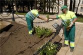 El Ayuntamiento contratará a desempleados para mejorar jardines