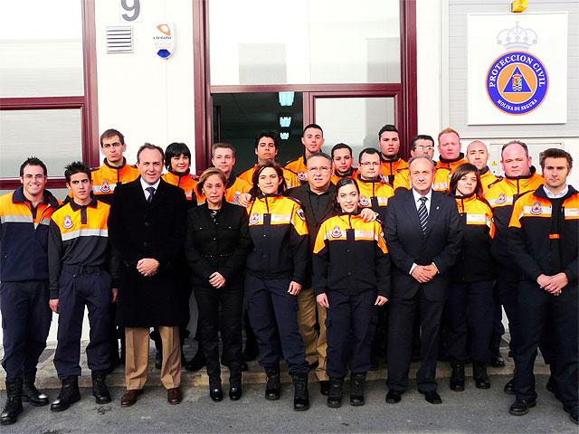 La Consejería de Presidencia aporta 100.000 euros para la nueva sede del servicio de Protección Civil de Molina de Segura - 1, Foto 1