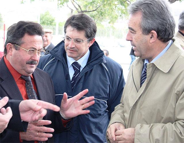 El consejero de Agricultura y Agua, Antonio Cerdá, asiste al acto de conmemoración del 30 aniversario de la Comunidad de Regantes de Lorca - 1, Foto 1