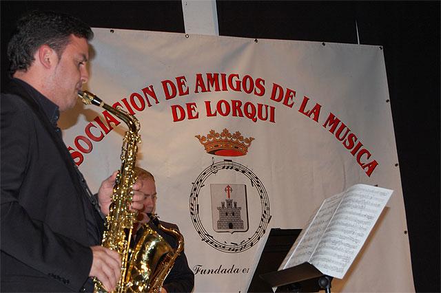 """Un concierto gratuito de saxofones a cargo del grupo local """"Aira"""" tuvo lugar en Lorquí - 1, Foto 1"""