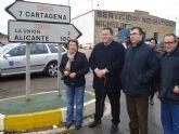 Reinaugurada la carretera Cartagena-La Unión y la Calle Mayor en su 150º aniversario