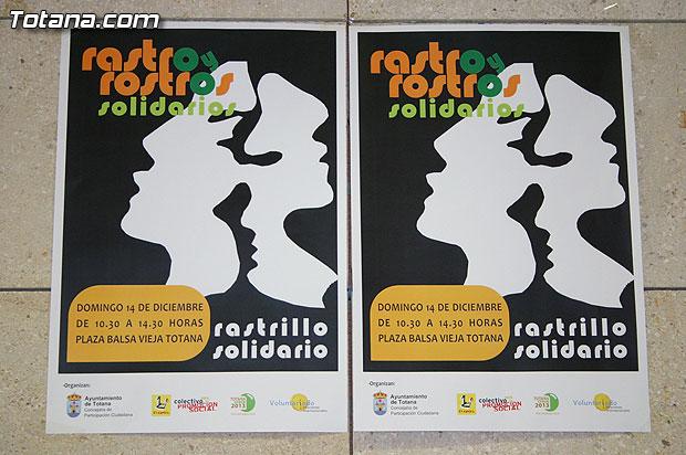 """El I Rastrillo """"Rastros y rostros solidarios""""  se celebrar� el 14 de diciembre en la Plaza de la Balsa Vieja, Foto 4"""