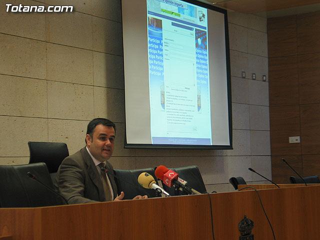 El portal juvenil tuopinionimporta.es se presenta como un nuevo cauce de comunicación entre el alcalde y los jóvenes del municipio, Foto 1