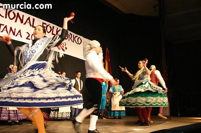 Totana conmemora las tradiciones musicales de la región con la celebración del IV festival folklórico nacional, Foto 1