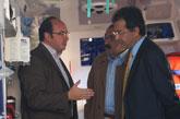 El alcalde de Puerto Lumbreras y el gerente del área III de salud de Lorca presentan la Unidad Medicalizada de Emergencias (UME)