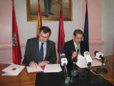 Obras Públicas y el Ayuntamiento de Alcantarilla firman un convenio para redactar el proyecto 'Parques Integrados'