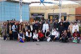 Jóvenes lumbrerenses viajan a Madrid y asisten al musical de Grease
