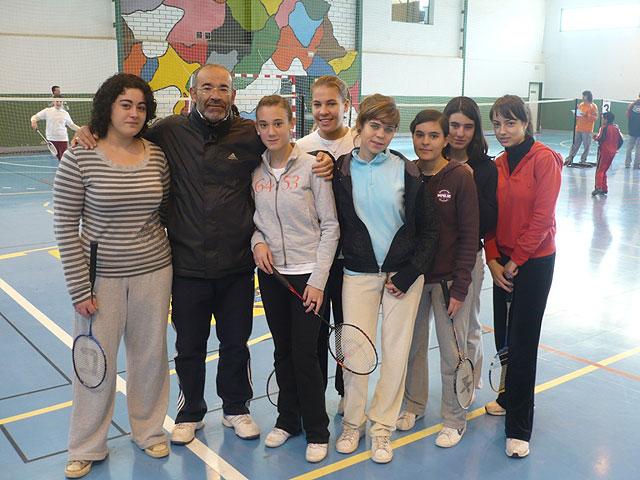 """Un total de 84 escolares participan en el torneo escolar de b�dminton, enmarcado en el programa """"Haz deporte, haz salud"""", Foto 2"""