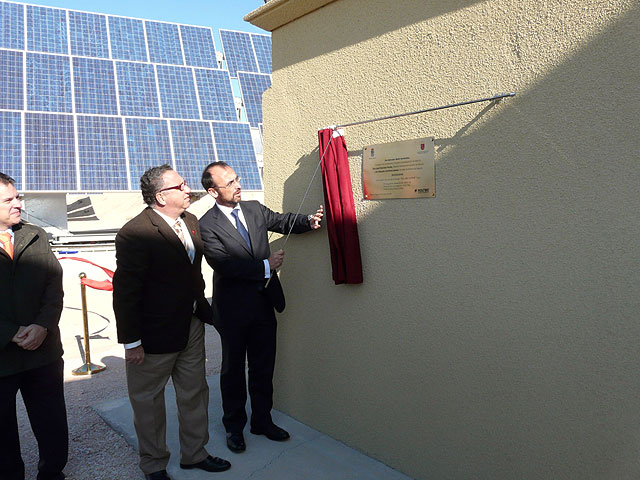 El huerto solar Soltec de La Alcayna de Molina de Segura ha sido inaugurado hoy martes 2 de diciembre - 2, Foto 2