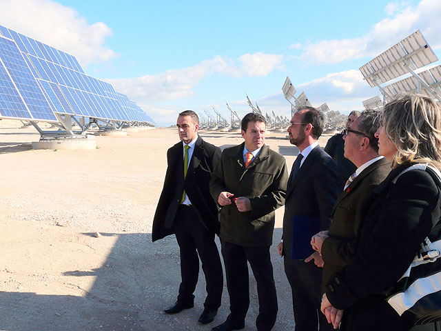 El huerto solar Soltec de La Alcayna de Molina de Segura ha sido inaugurado hoy martes 2 de diciembre - 3, Foto 3