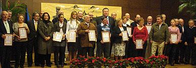 Homenaje a los establecimientos comerciales más veteranos del municipio