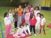 Ponen en marcha en El Paret�n la nueva escuela deportiva municipal de Gimnasia R�tmica