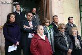 """Totana condena la violencia de g�nero con la concentraci�n silenciosa """"Mi�rcoles Blanco"""""""