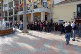 Cinco minutos de silencio en Las Torres de Cotillas contra el último atentado de ETA