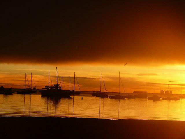 Espectacular amanecer de esta mañana en Santiago de la Ribera - 1, Foto 1
