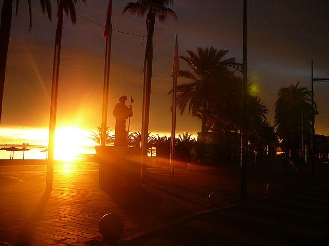 Espectacular amanecer de esta mañana en Santiago de la Ribera - 2, Foto 2