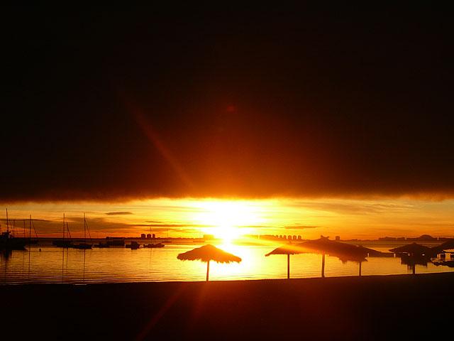 Espectacular amanecer de esta mañana en Santiago de la Ribera - 3, Foto 3