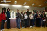 Entregan los premios del concurso de Arte por la Igualdad Totana 2008 y el de carteles contra la violencia de g�nero