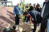 """Plantan 30 �rboles aut�ctonos en la Ciudad Deportiva """"Sierra Espuña"""" para celebrar el 30 aniversario de la Constituci�n Española"""