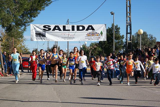 Más de 200 deportistas participan en la XV Carrera Popular de La Estación-El Esparragal de Puerto Lumbreras - 1, Foto 1