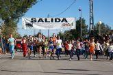 Más de 200 deportistas participan en la XV Carrera Popular de La Estación-El Esparragal de Puerto Lumbreras