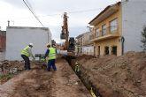 Continúan las obras de colectores pluviales en Puerto Lumbreras