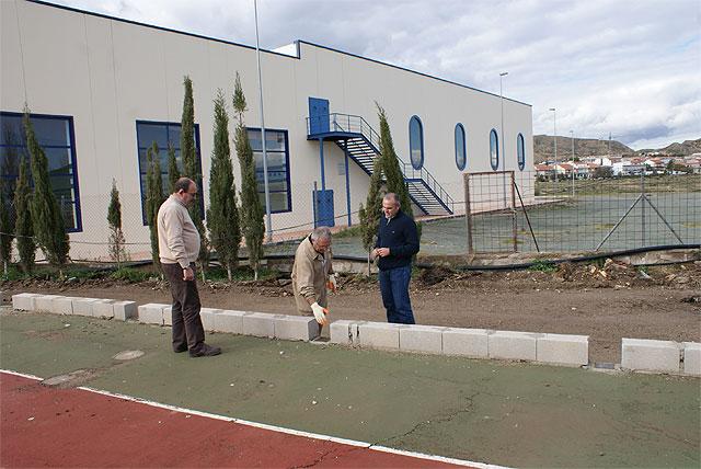 Comienzan las obras de remodelación y accesibilidad del Polideportivo Municipal de Puerto Lumbreras - 1, Foto 1