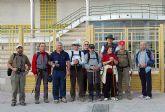 Visita de un grupo de peregrinos a Alguazas