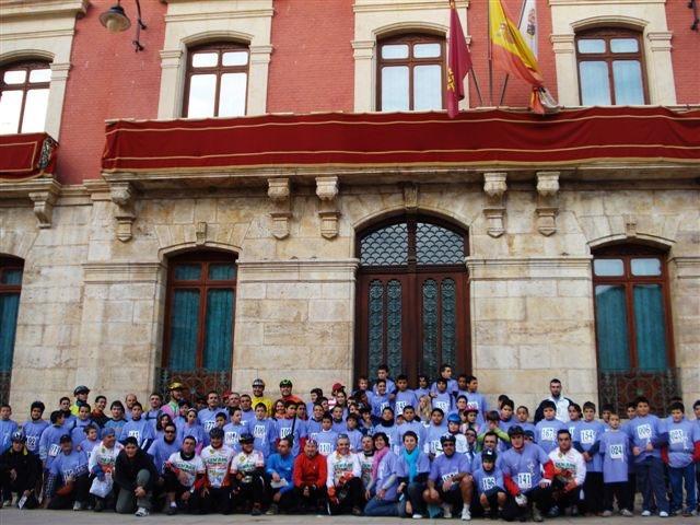 La 'I Ruta mountain bike contra la violencia de género' recorre los parajes naturales de Mazarrón - 2, Foto 2