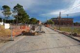 La construcción de la red de colectores de aguas pluviales de Las Torres, con paso firme