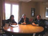 El alcalde de Puerto Lumbreras se reúne con el Presidente de Paradores de Turismo de España en Madrid